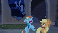 "Rainbow Dash and Applejack ""run!"" S4E03"