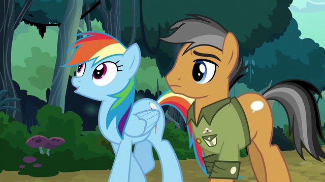 File:Rainbow Dash and Quibble walking home S6E13.png
