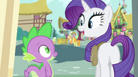 "Rarity ""Isn't it gorgeous?"" S4E23"