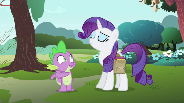 "File:Spike ""it's so... 'Rarity'!"" S4E23.png"