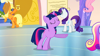 Twilight is calm and collected S3E12