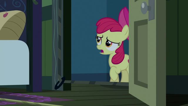 """File:Apple Bloom """"try and prank you in your sleep"""" S6E15.png"""