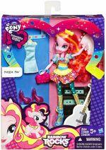 Rainbow Rocks Fashion Doll Pinkie Pie toy packaging