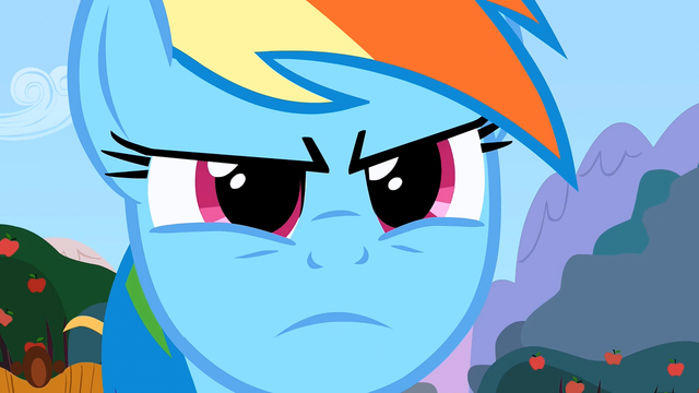 File:Rainbow Dash serious S2E15.png
