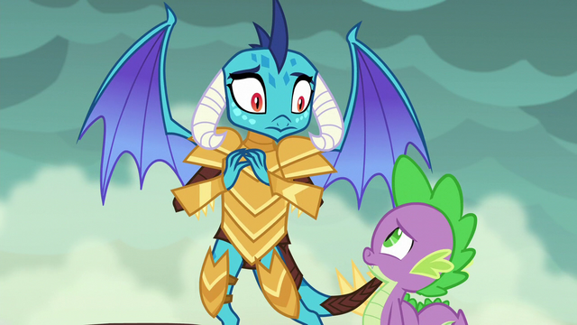 File:Spike and Ember getting worried S6E5.png