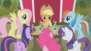 Main six drinking apple juice S1E4.png