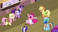 "Pinkie Pie dramatic ""no!"" S03E12"