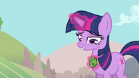 Twilight little Alicorn amulet S3E5