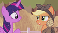 "Applejack ""bump your head on a crate of cider"" S5E25.png"