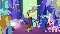 Discord accepted by ponies S4E26