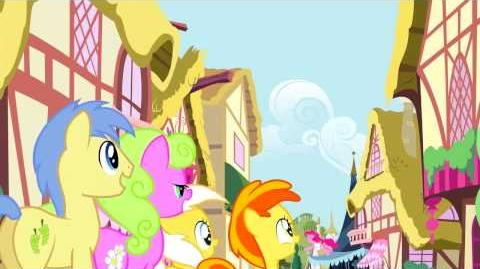 Italian My Little Pony Pinkie The Party Planner Song HD