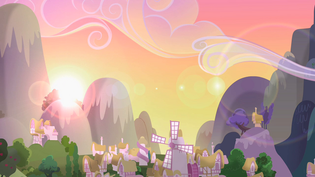 File:Sunrise over Ponyville S2E03.png