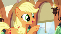 "Applejack ""we wanted to make sure"" S6E18"