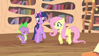 Fluttershy excited S4E11