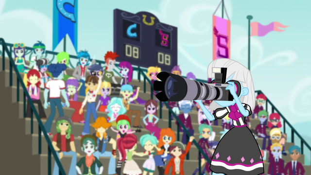 File:Photo Finish takes pictures of Pinkie and Rarity EG3.png