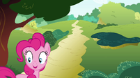 "Pinkie Pie ""She's not quite as fast as me"" S4E18"