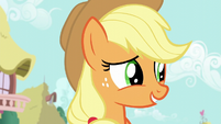 """Applejack """"everythin' will be just fine"""" S6E10"""