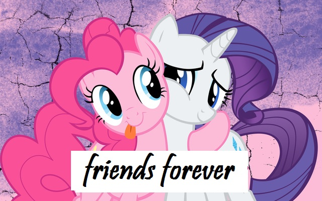 File:FANMADE Pinkie Pie and Rarity friends forever.jpg
