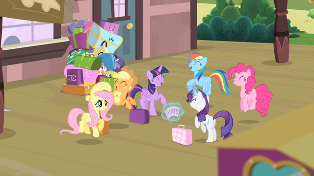 File:Mane 6 excited S4E08.png