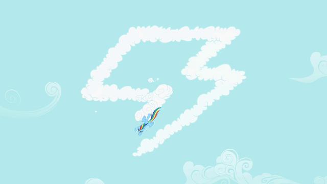 File:Rainbow Dash make cloud S2E8.png