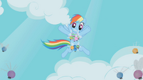 Rainbow Dash parasprite bikini S1E10