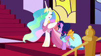 "Princess Celestia ""I am quite looking forward"" S5E7"