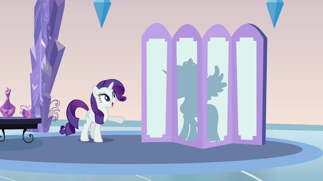 File:Rarity and Cadance's silhouette S03E12.png