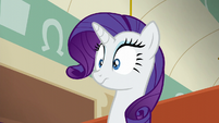 Rarity surprised S6E9