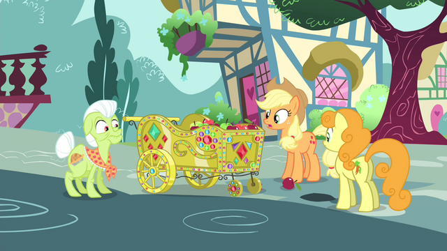 "File:AJ ""What in rhubarb pie just happened?"" S4E23.png"