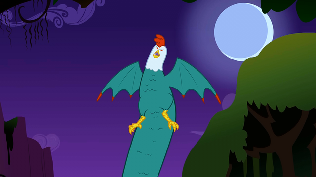 File:Cockatrice rising out of the bushes S1E17.png