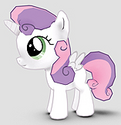 Sweetie Belle Alicorn ID Gameloft