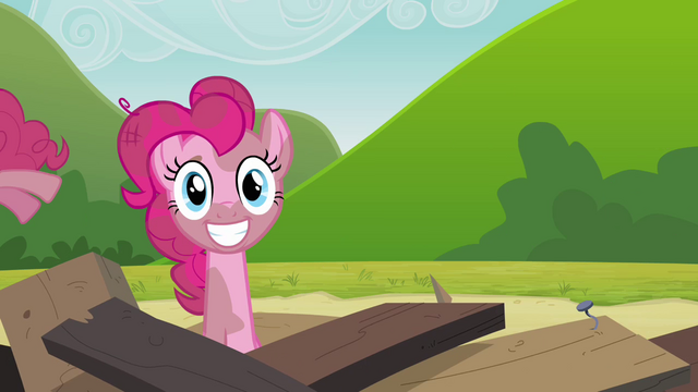 File:Another Pinkie clone coming out of the tower remains S3E3.png