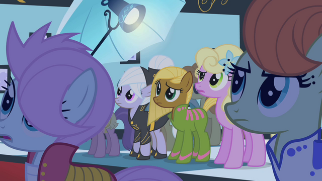 File:Ponies looking at Fluttershy S1E20.png