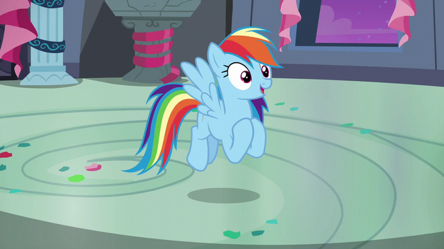 "File:Rainbow ""stand out in a different way"" S6E7.png"