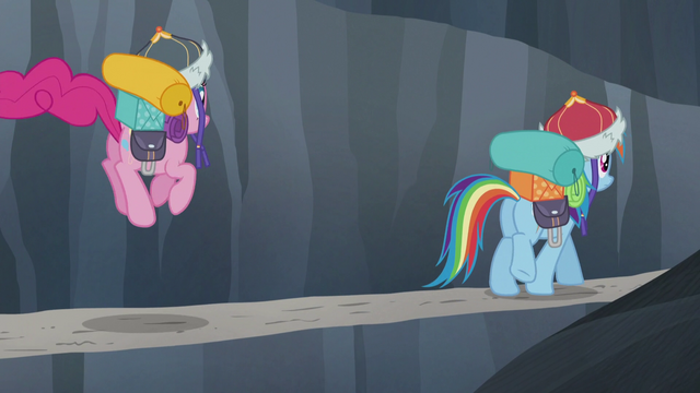 File:Rainbow walking while Pinkie hops S5E8.png