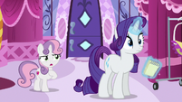 "Sweetie Belle ""you mean my hooves"" S6E14"