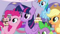 Twilight hears Rarity S5E14