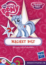 Wave 16 Magnet Bolt collector card