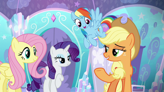 File:Applejack and friends offering to help S6E1.png