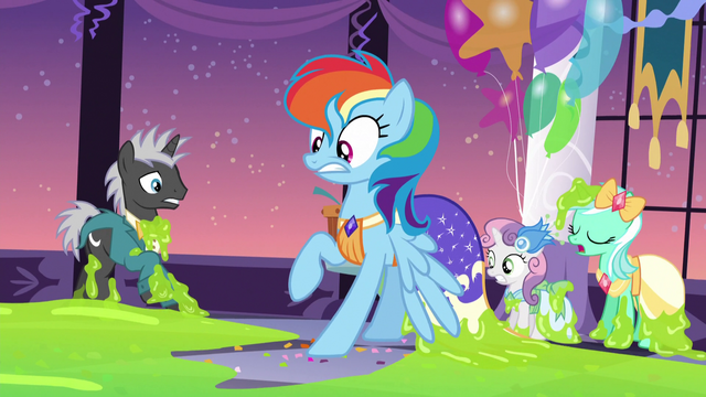 File:Rainbow Dash backs away from the slime S5E7.png