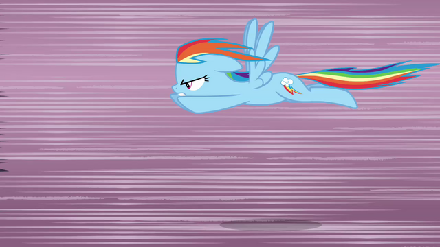 File:Rainbow Dash flying very fast S3E1.png