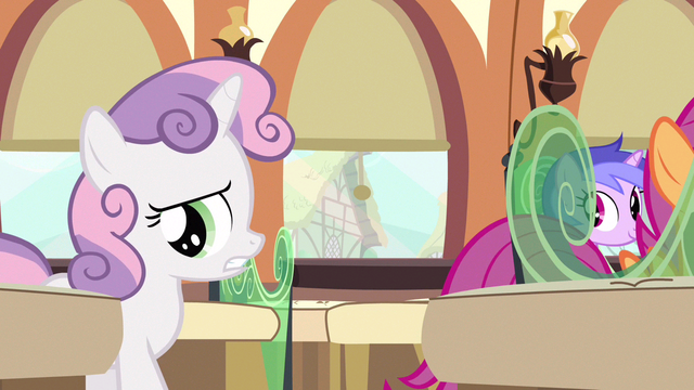 File:Sweetie Belle dressed for it S3E11.png