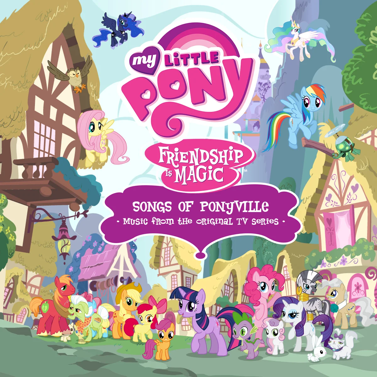 Songs of Ponyville | My Little Pony Friendship is Magic Wiki ...