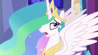 Princess Celestia sighing S6E6