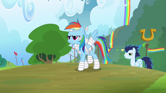 File:Rainbow Dash and Soarin walking proud S4E10.png