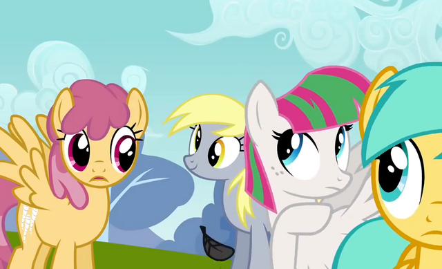 File:Derpy after Thunderlane leaves clear view S2E22.png