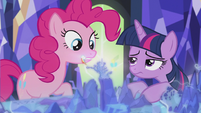 "Pinkie ""Just me and Rainbow Dash?"" S5E8"