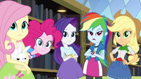 """Rainbow """"you think the Friendship Games are silly"""" EG3"""