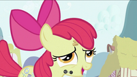 Apple Bloom after swallowing the flower S2E06