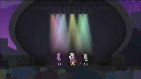 Arabic Equestria Girls Rainbow Rocks - Tricks Up My Sleeve